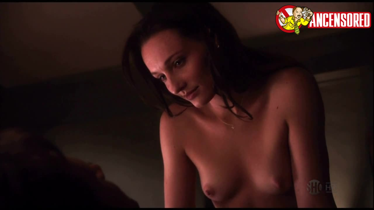 Kristine Blackport scene in Californication