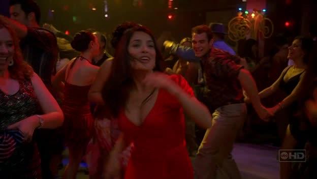 Sexy Salma Hayek dancing salsa
