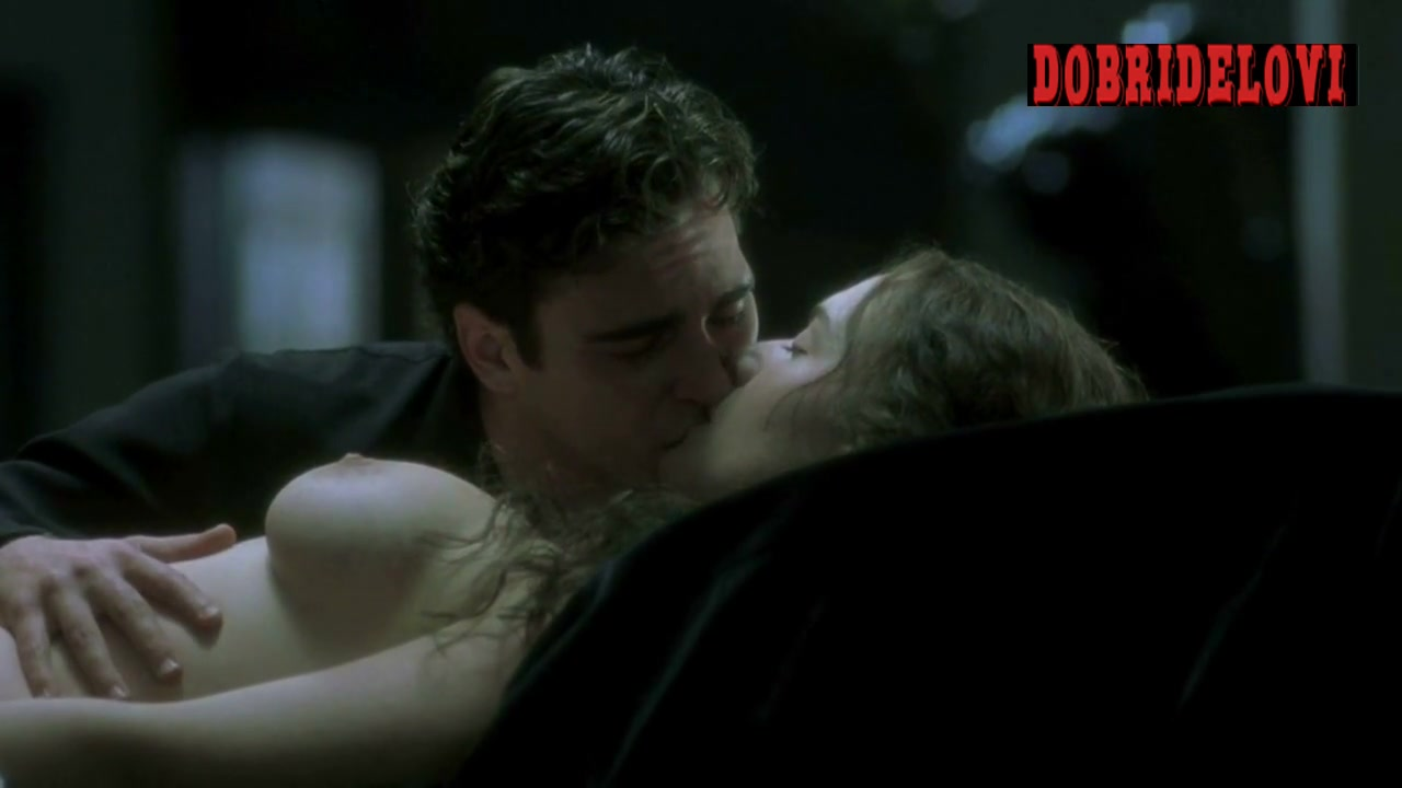Kate Winslet nude in dream with Joaquin Phoenix
