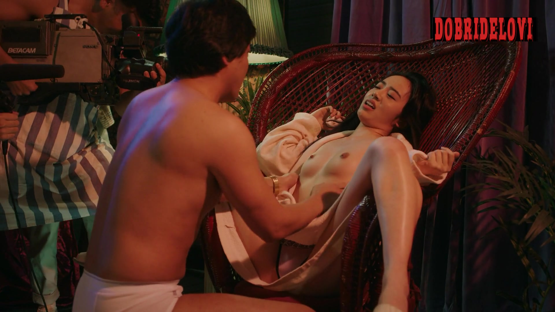 Misato Morita nude and being fingered scene from The Naked Director