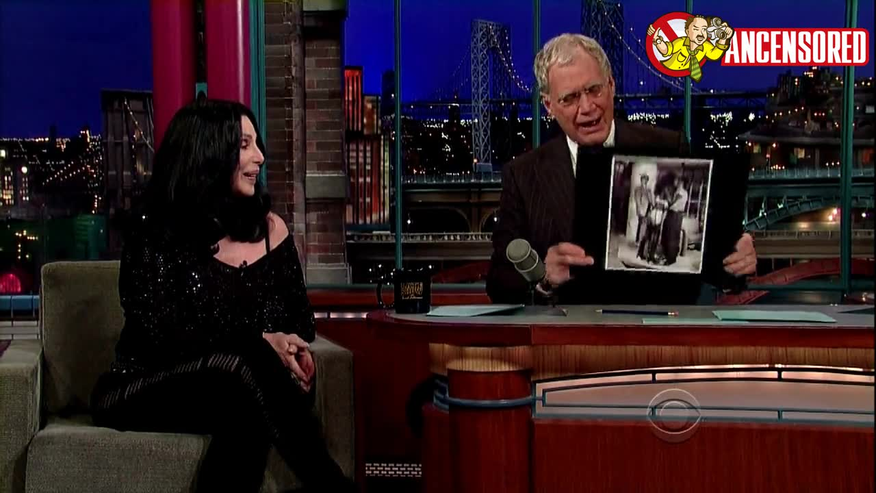 Cher screentime - Late Show with David Letterman