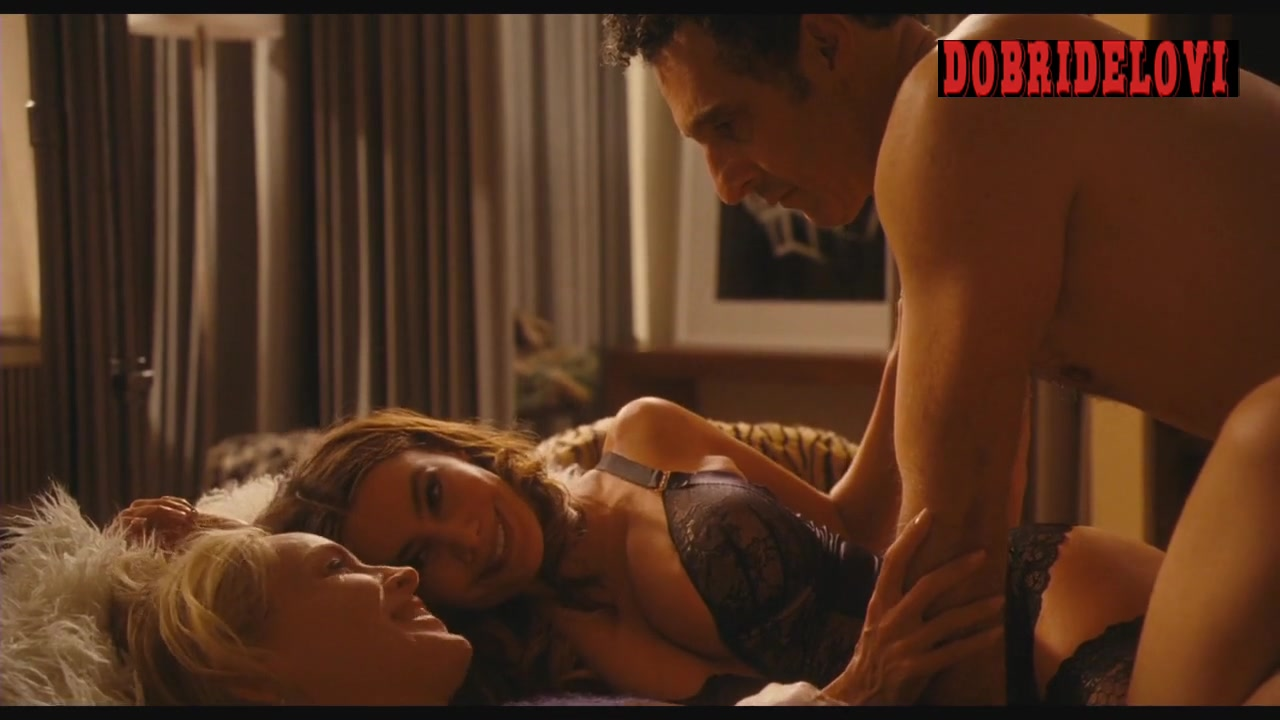 Sofia Vergara and Sharon Stone threesome with John Turturro