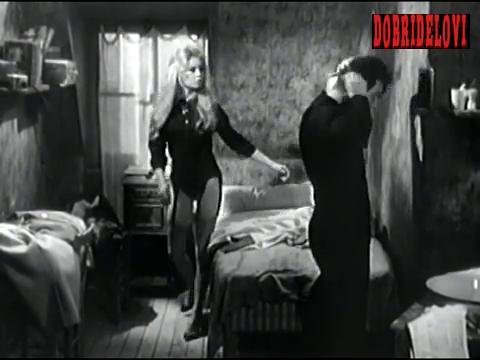 Brigitte Bardot dressing skirt scene from En Cas de Malheur