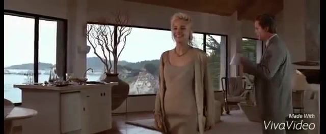 Leilani Sarelle and Sharon Stone dancing in Basic Instinct