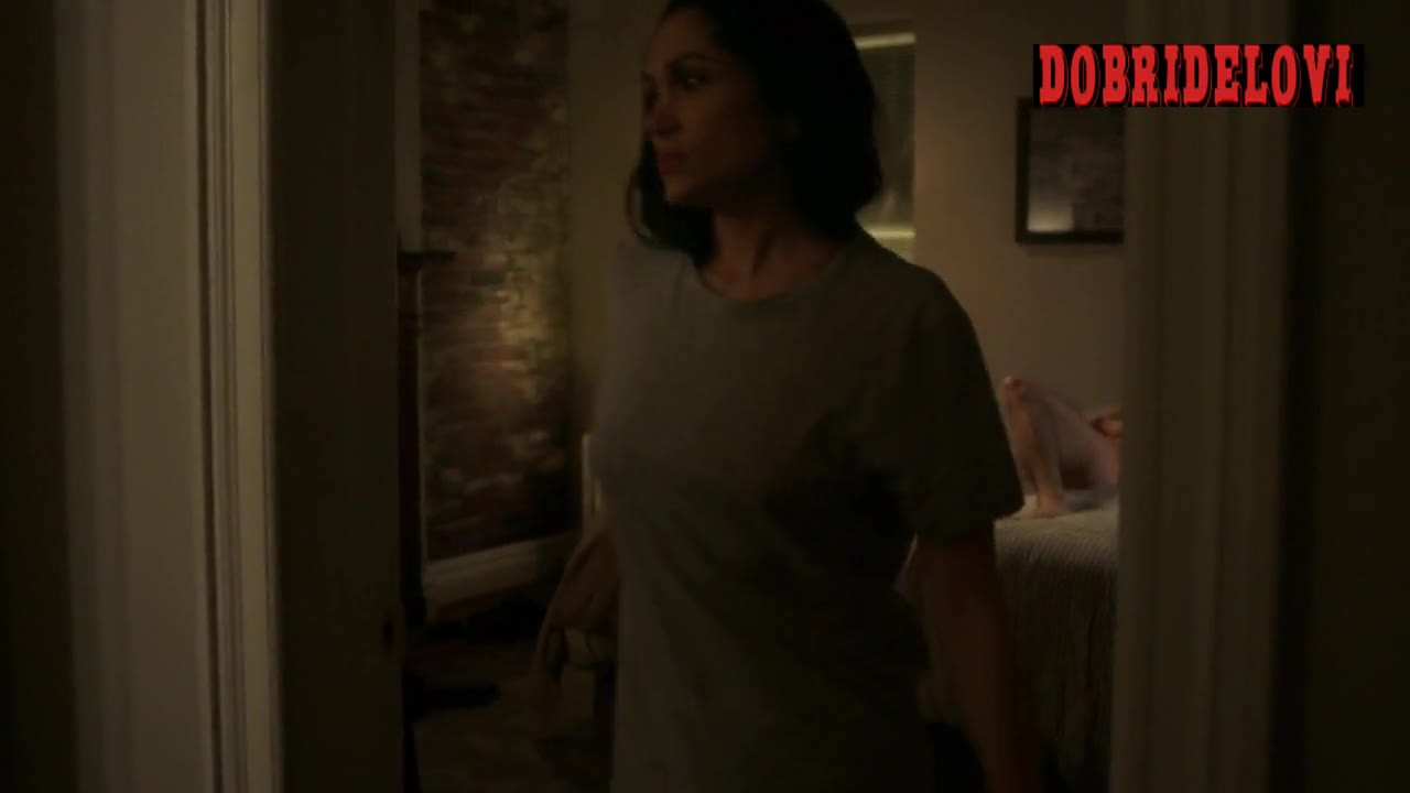 Lela Loren nude getting out of bed scene from Power