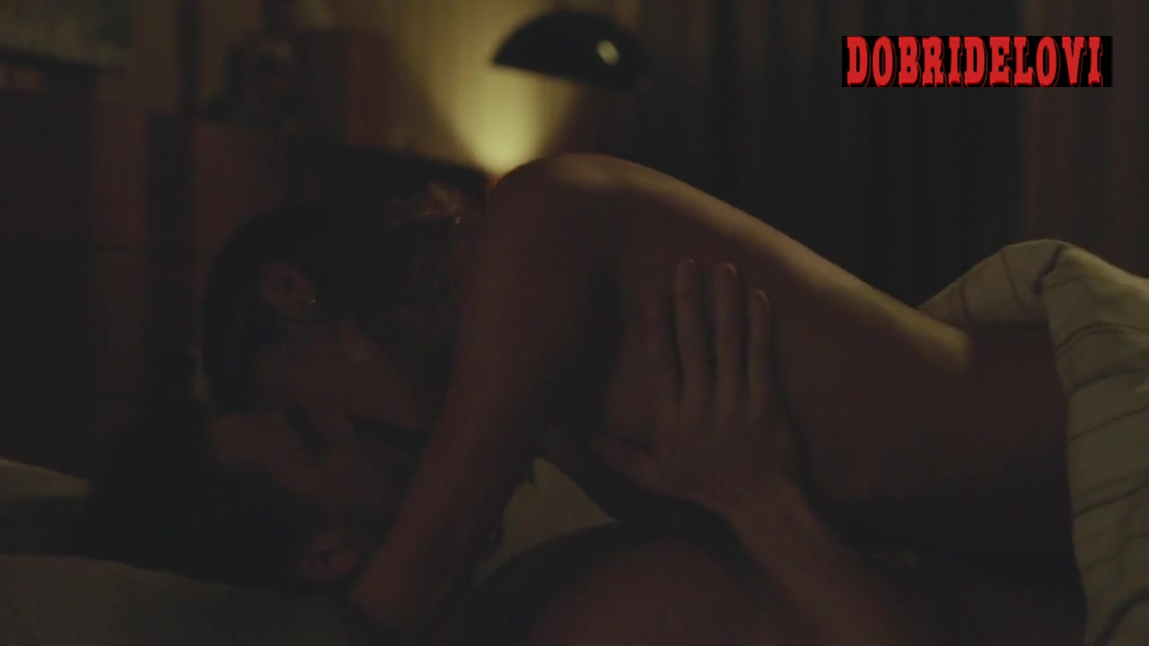 Jamie Chung interracial sex scene from Casual