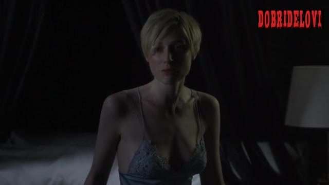 Elizabeth Debicki cleavage scene from The Night Manager