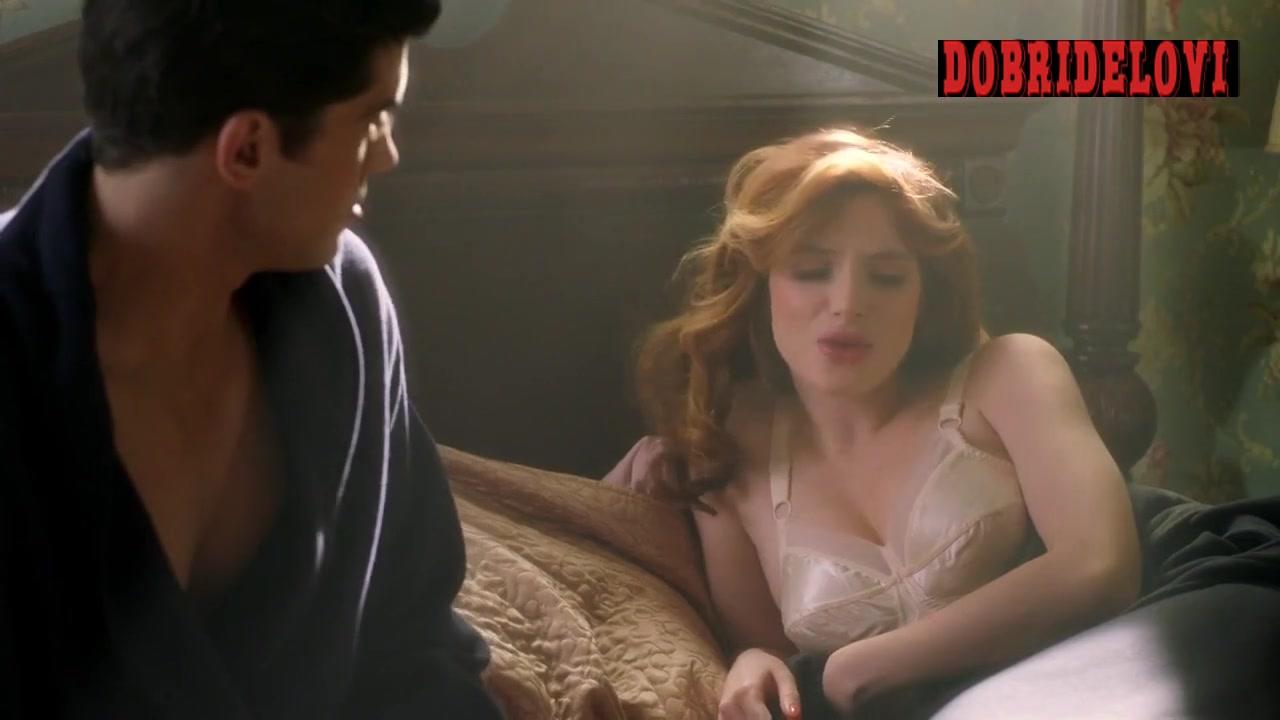 Bella Thorne white lingerie scene from Famous in Love