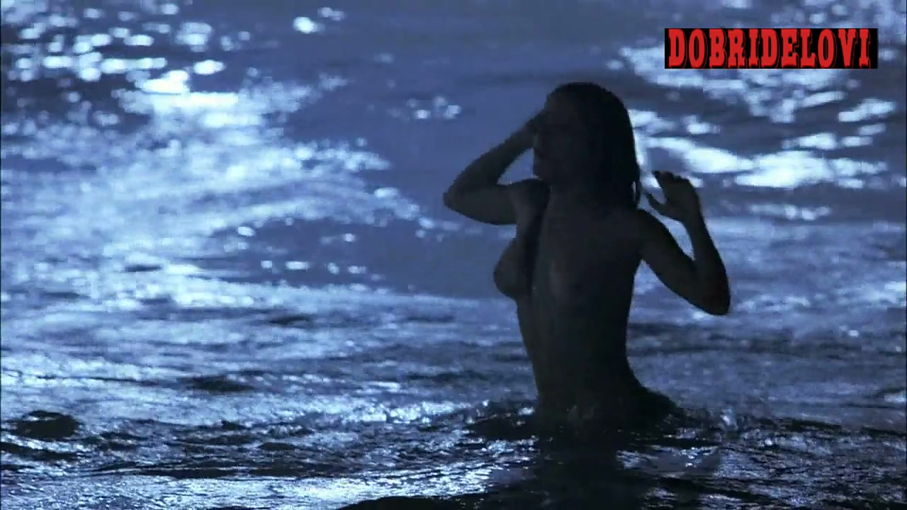 Salma Hayek skinny dipping scene from Ask the Dust
