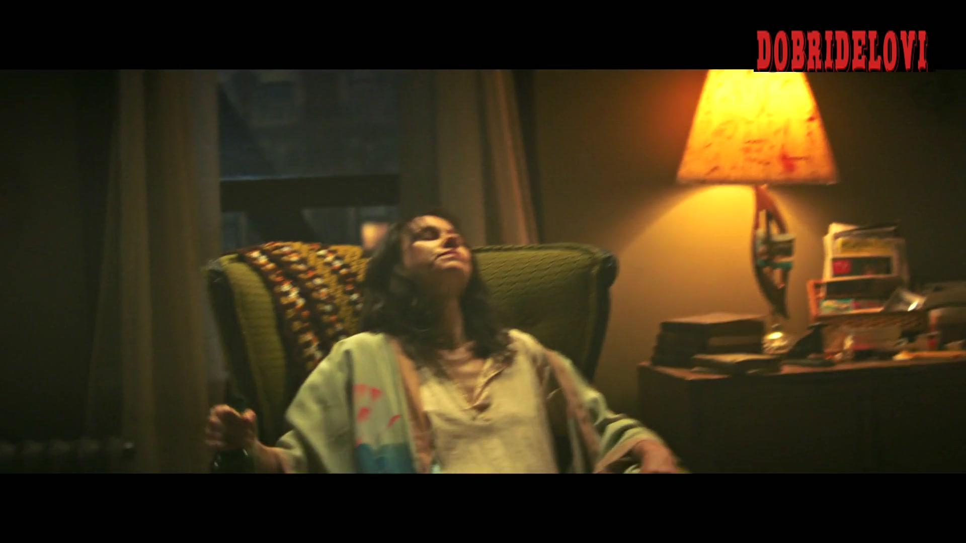 Naomi Watts drunk showing some pokies scene from The Wolf Hour