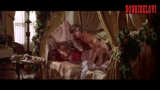 Elisabeth Shue nude in bed scene from Cousin Bette