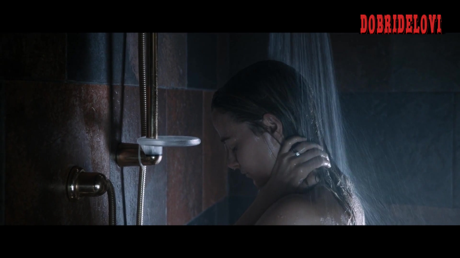 Watch Bojana Novakovic shower scene from Malicious video