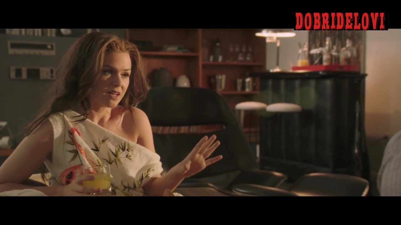Isla Fisher white panties scene from Life of Crime