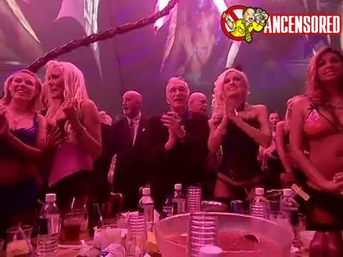 Paris Hilton happy birthday to Hugh Hefner