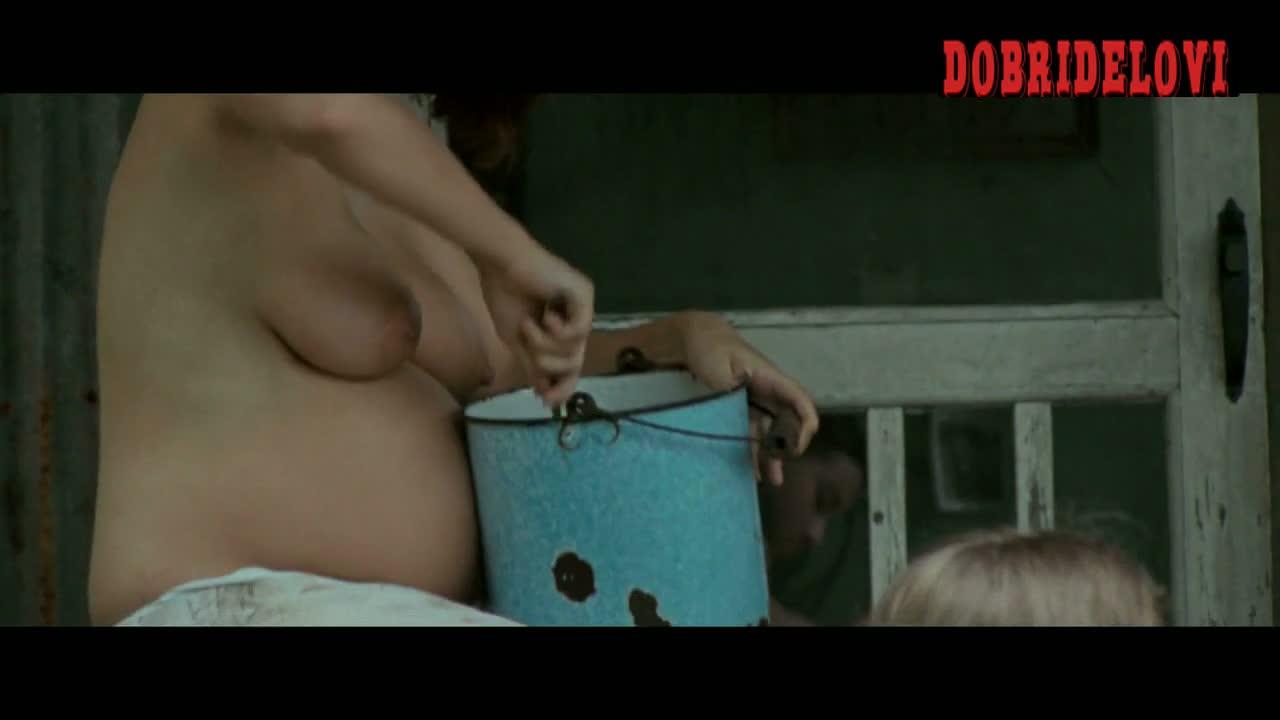 Shannon Trosclair topless cooking breakfast
