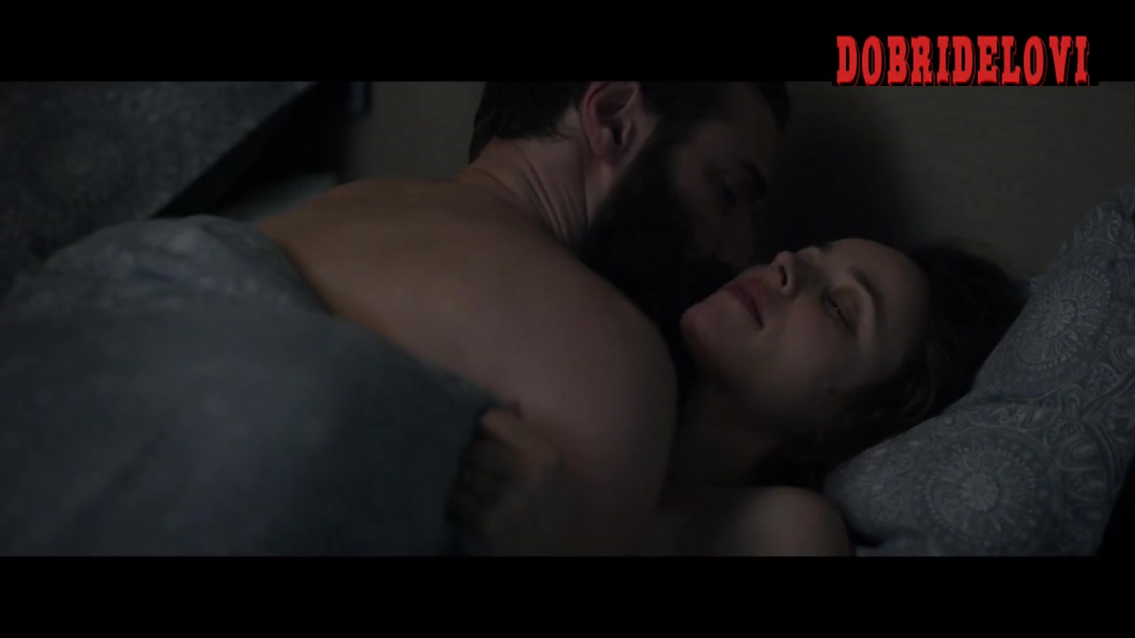 Rachel McAdams undresses before going to bed scene from Disobedience