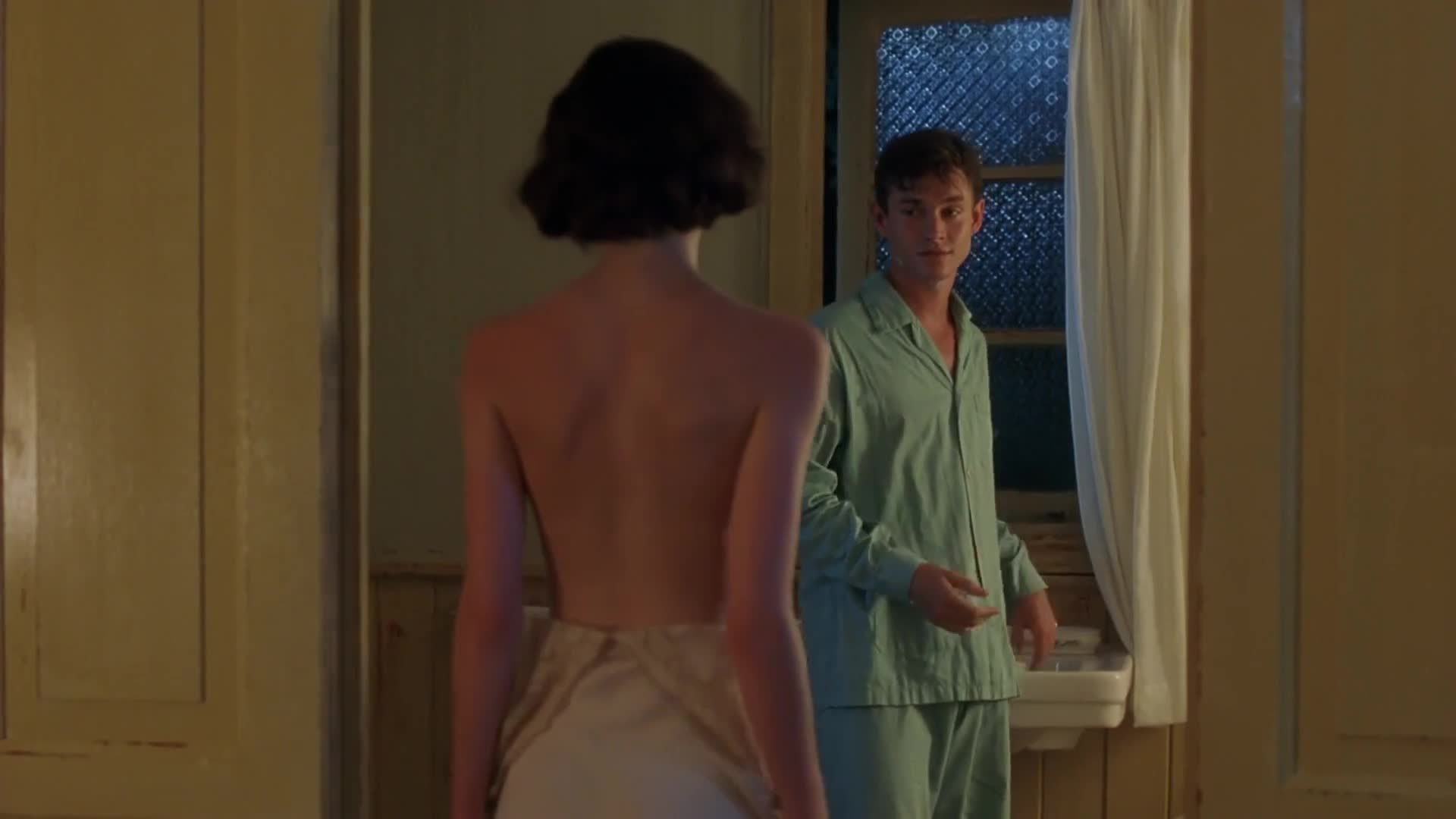 Emily Mortimer undresses for Hugh Dancy in The Sleeping Dictionary
