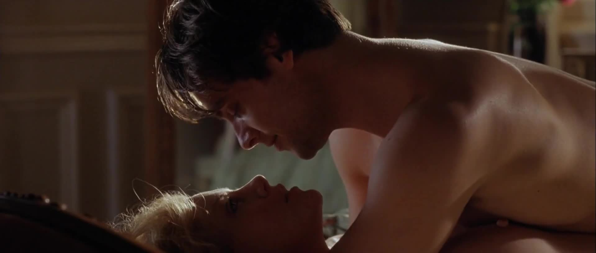 Charlize Theron sexy scene from Head in the Clouds
