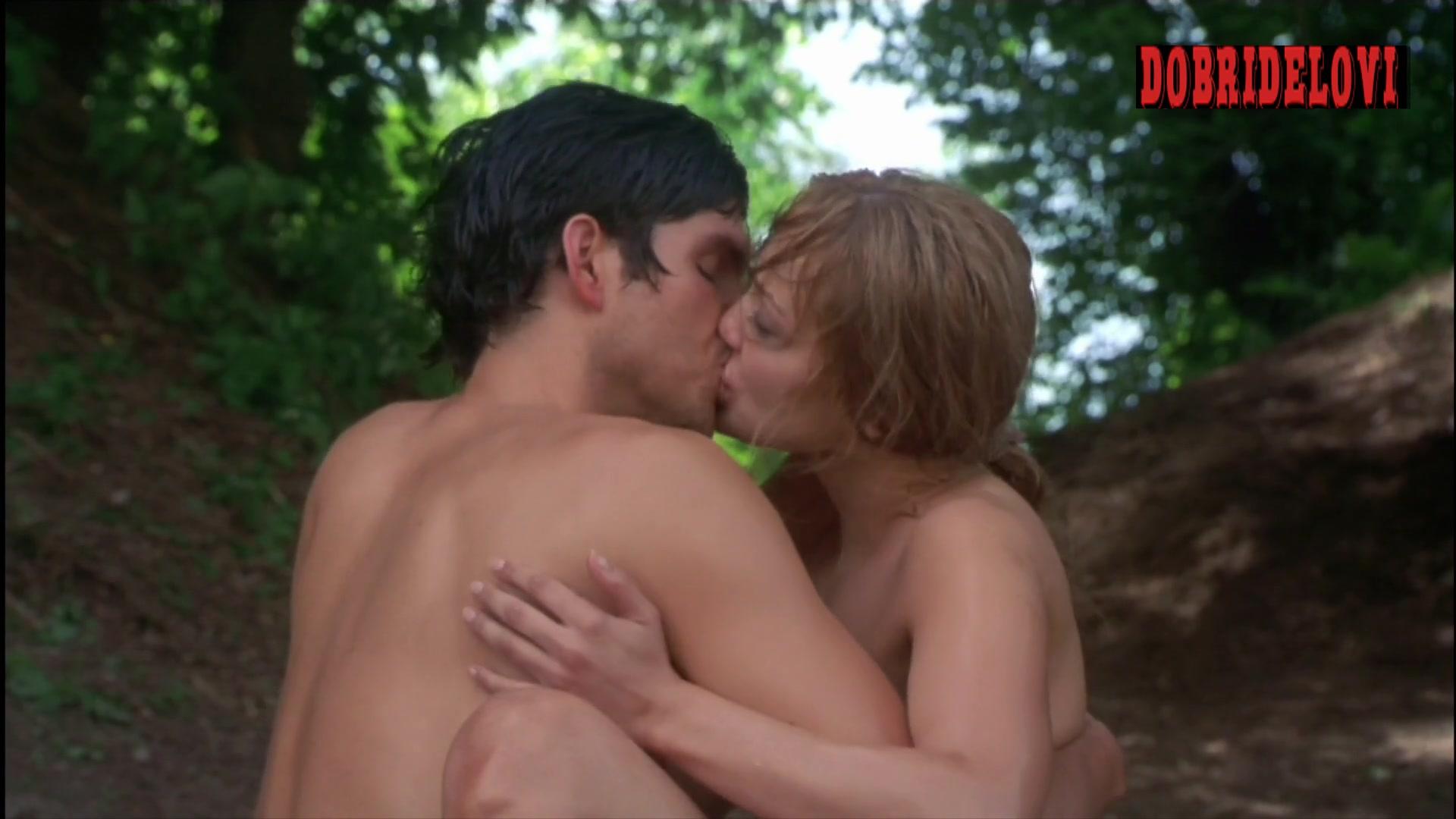 Jennifer Lopez sex in the woods scene from Angel Eyes