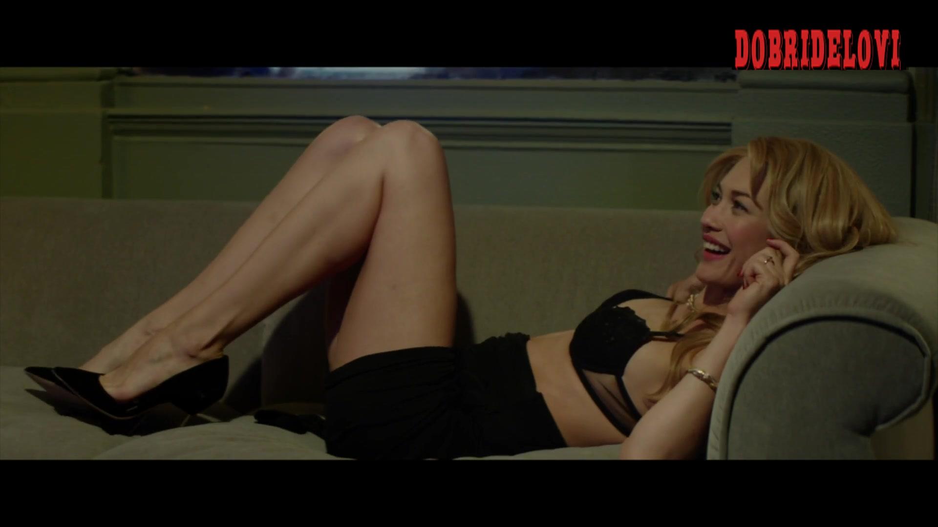 Olga Kurylenko couch scene with Adam Driver for The Man Who Killed Don Quixote