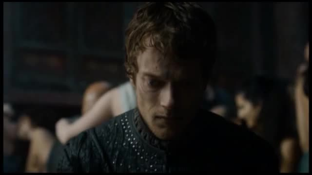 Zoi Gorman sexy scene in Game of Thrones