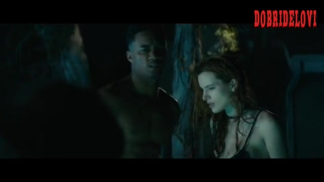 Bella Thorne hot tub scene from Ride
