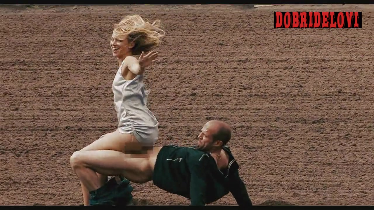 Amy Smart sex in horse track scene from Crank 2: High Voltage video image