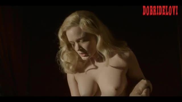 Watch Bella Heathcote getting dressed scene from Strange Angel video