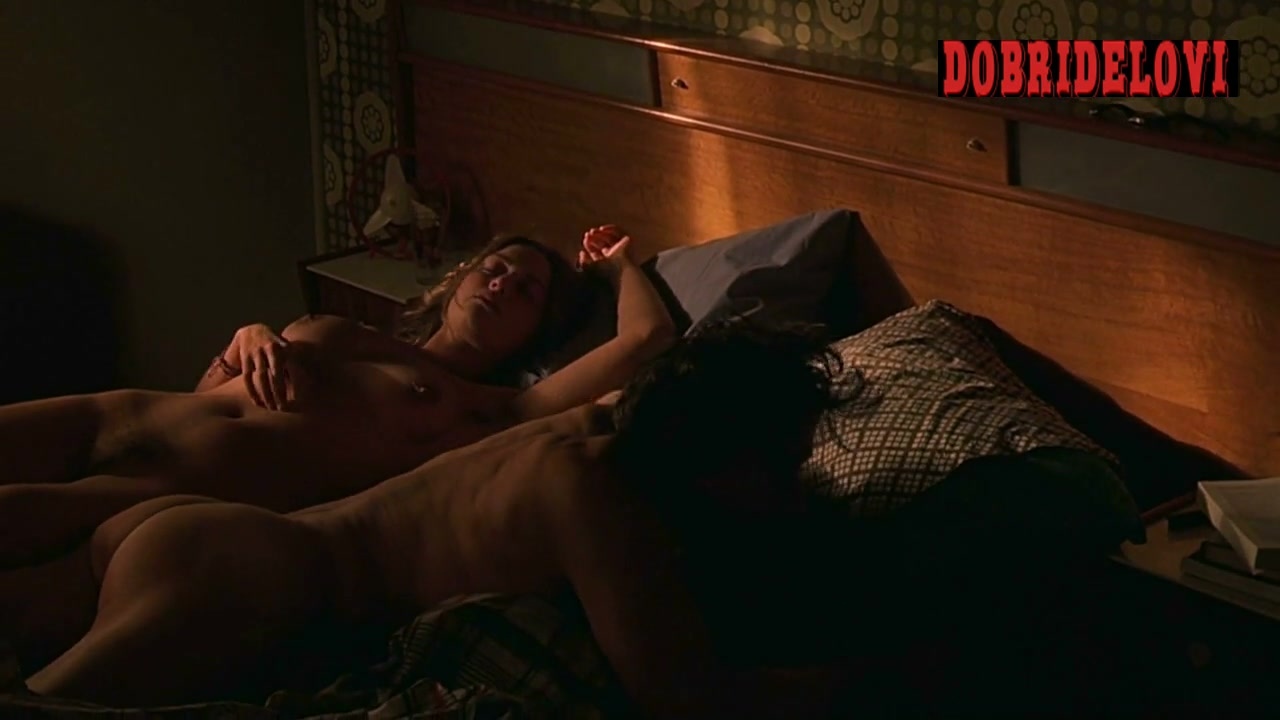 Kate Winslet laying nude in bed scene from Holy Smoke!
