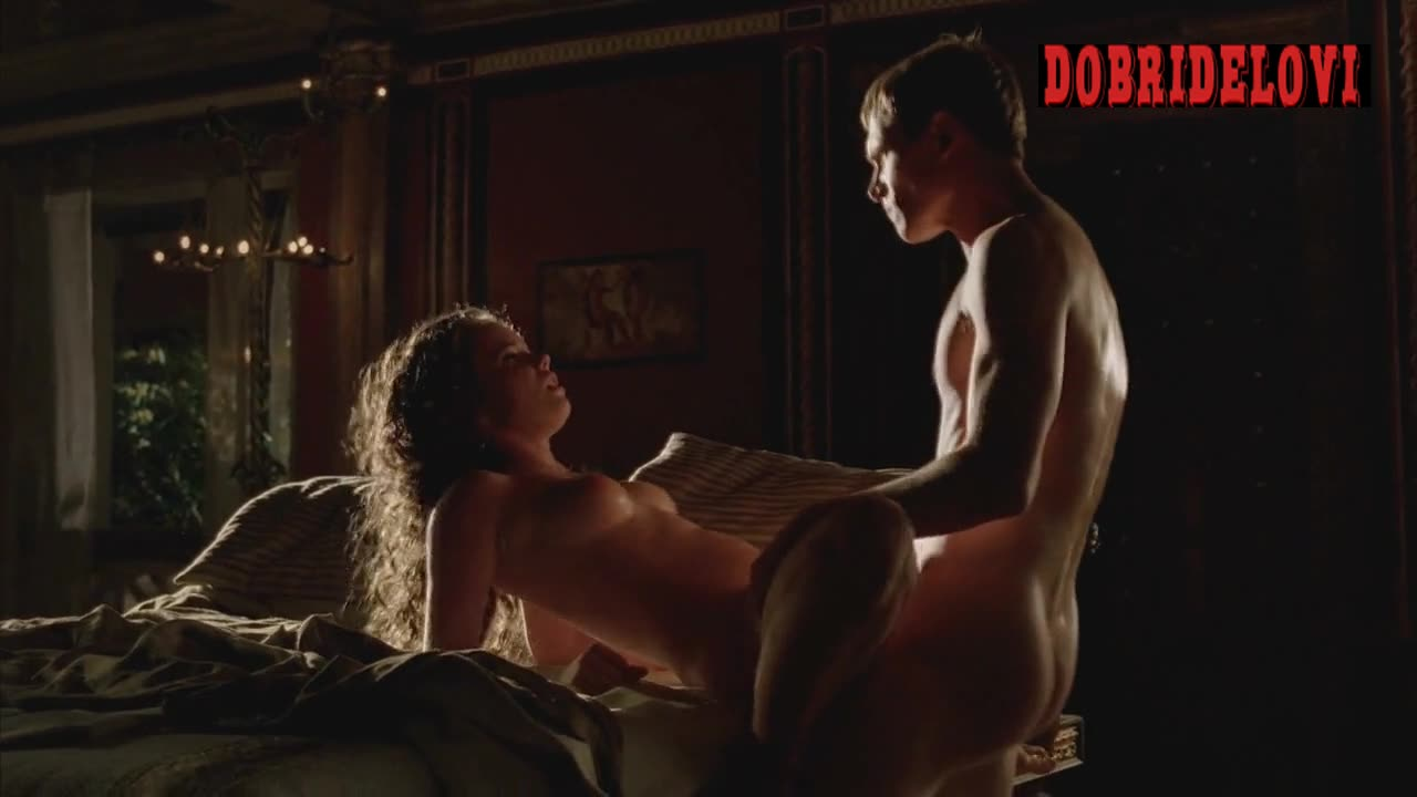 Alice Henley rough sex scene from Rome