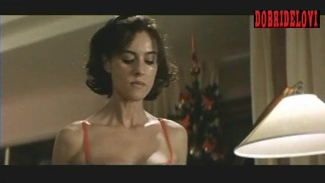 Monica Bellucci hysterical and nude scene from L'Ultimo Capodanno