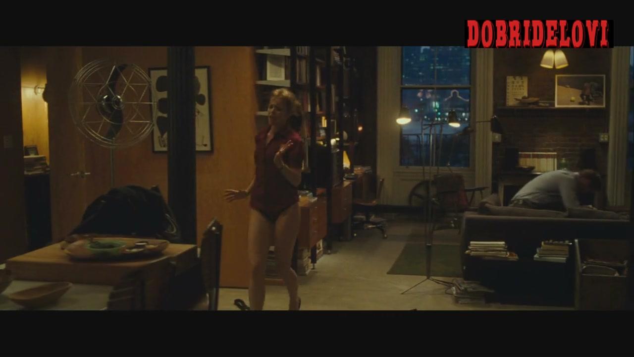 Rachel McAdams living room sex interrupted scene from Morning Glory