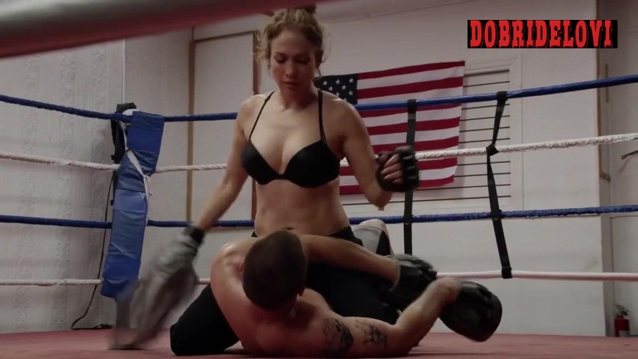 Jennifer Lopez boxing scene from Shades of Blue