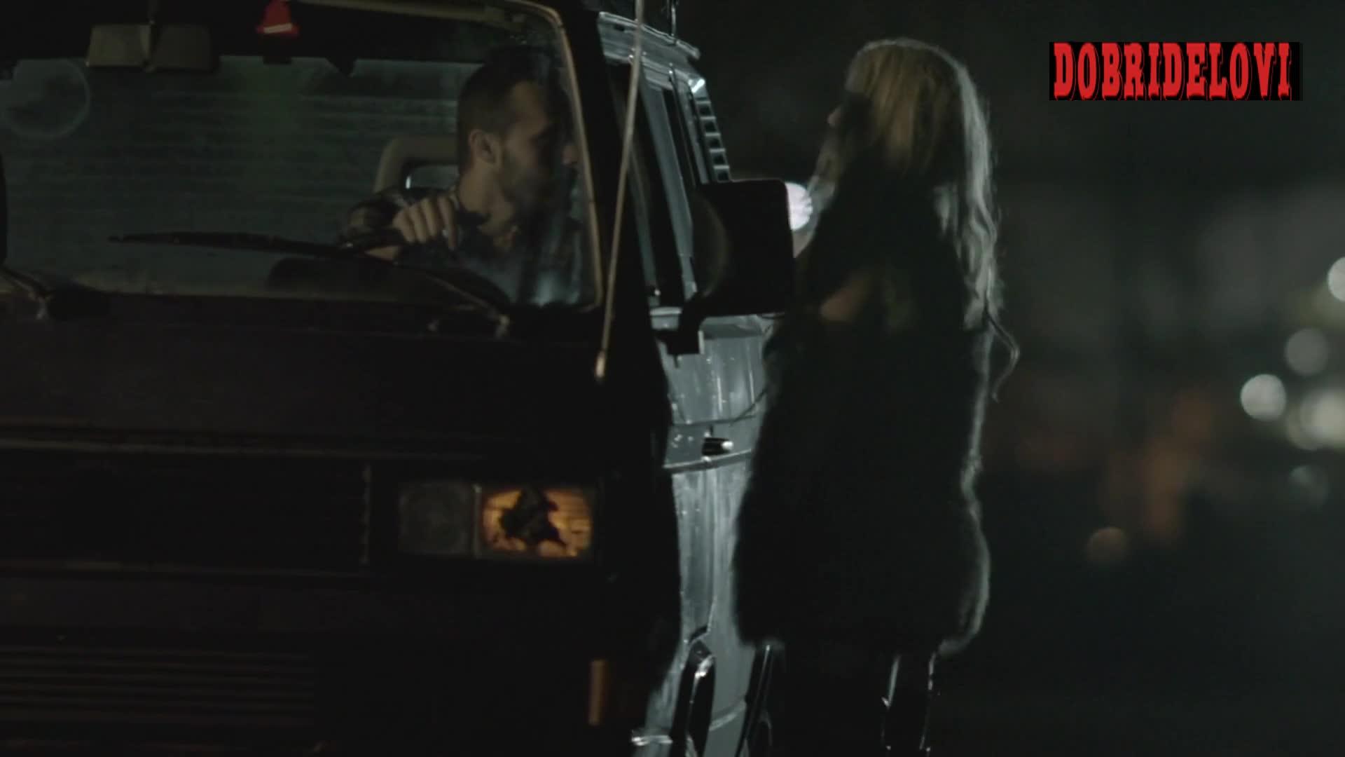 Kelsey Baran sex in backseat of car scene from Five Minute Rush