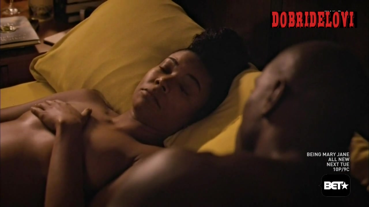 Gabrielle Union black scene from Being Mary Jane
