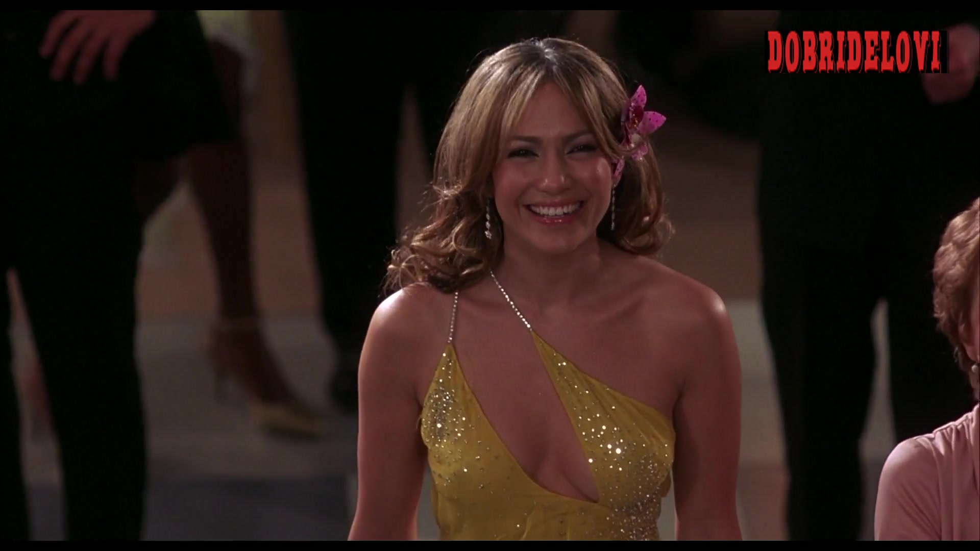 Jennifer Lopez sexy dress for party scene from Shall We Dance?