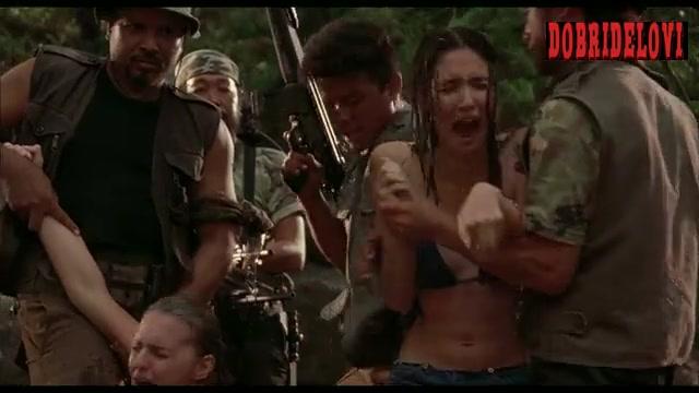 Sara Malakul Lane held captive scene from Belly of the Beast