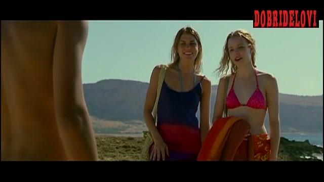 Rachel McAdams sex pink bikini top scene from My Name is Tanino