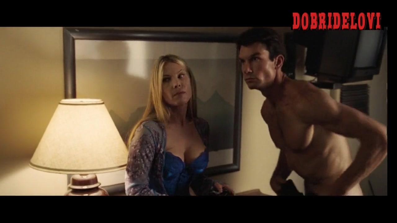 Deborah Kara Unger motel room from opening credits of Lies & Alibis