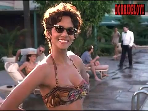 Halle Berry splashing water scene from Introducing Dorothy Dandridge