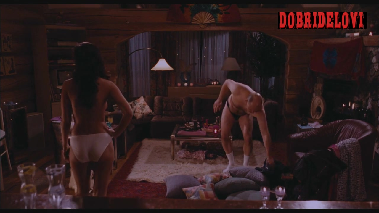 Watch Crystal Lowe white panties scene from Hot Tub Time Machine video