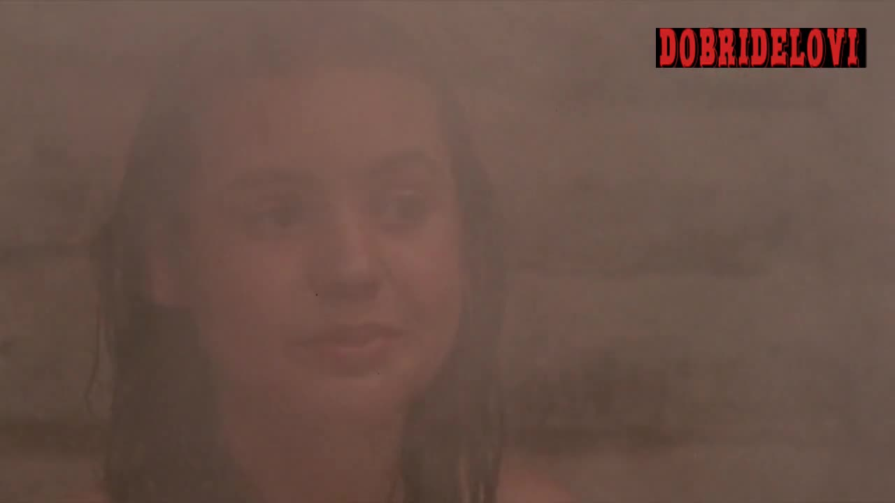 Bo Derek and Olivia Dabo topless in sauna scene from Bolero