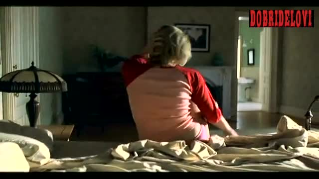 Sharon Stone getting out of bed scene from Cold Creek Manor
