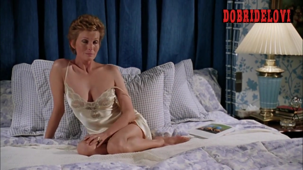 Bo Derek sexy nightie in bed scene from Tommy Boy