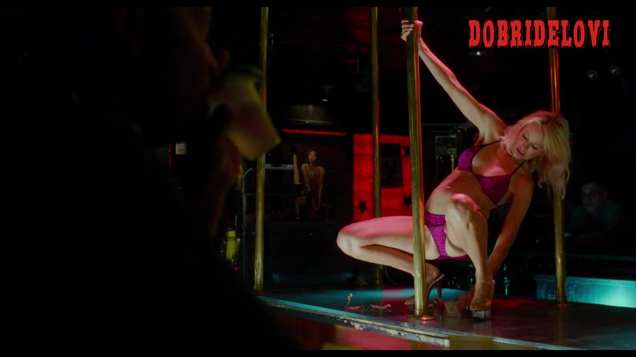 Naomi Watts pole dancing in strip club scene from St. Vincent