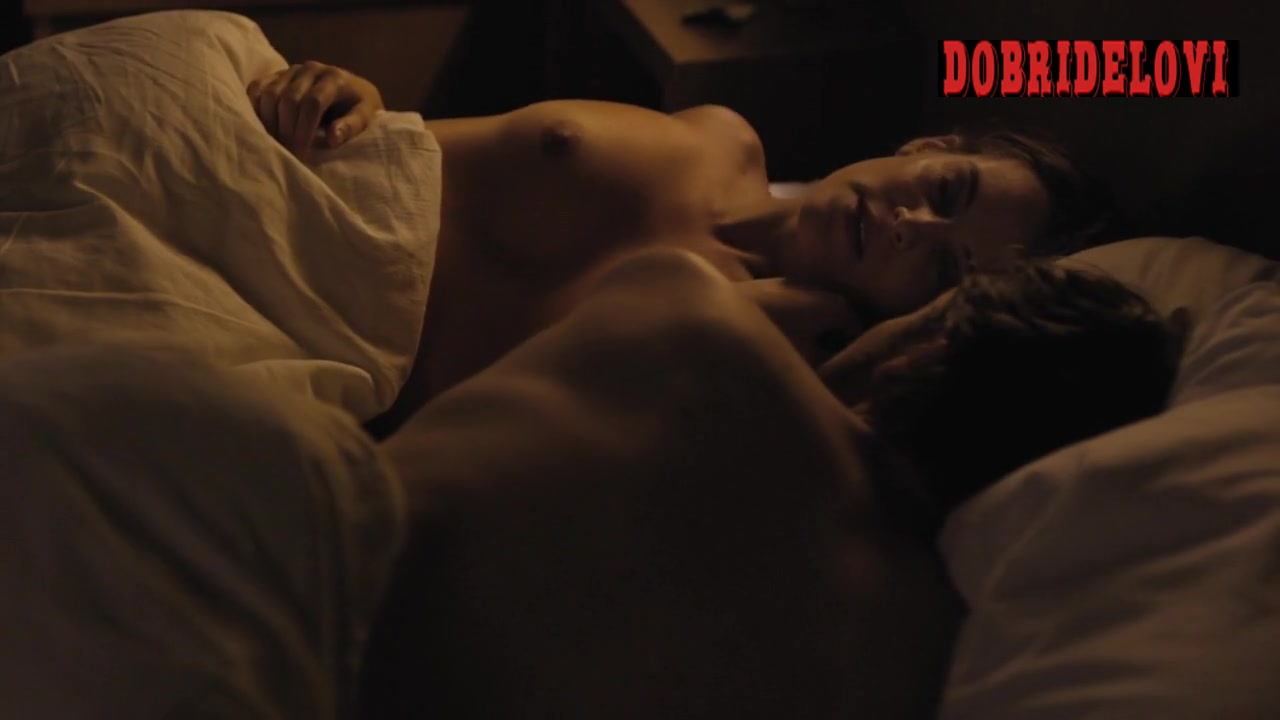 Riley Keough post coital scene from The Girlfriend Experience