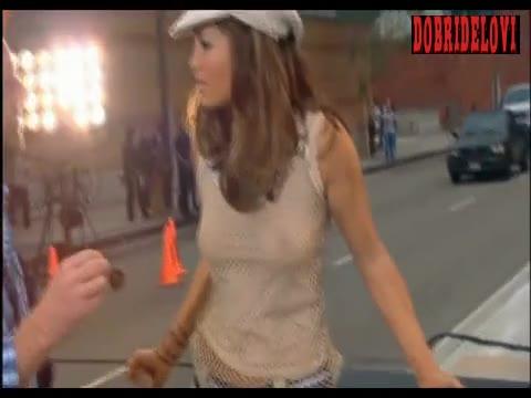 Jennifer Lopez music video scene from I'm Real
