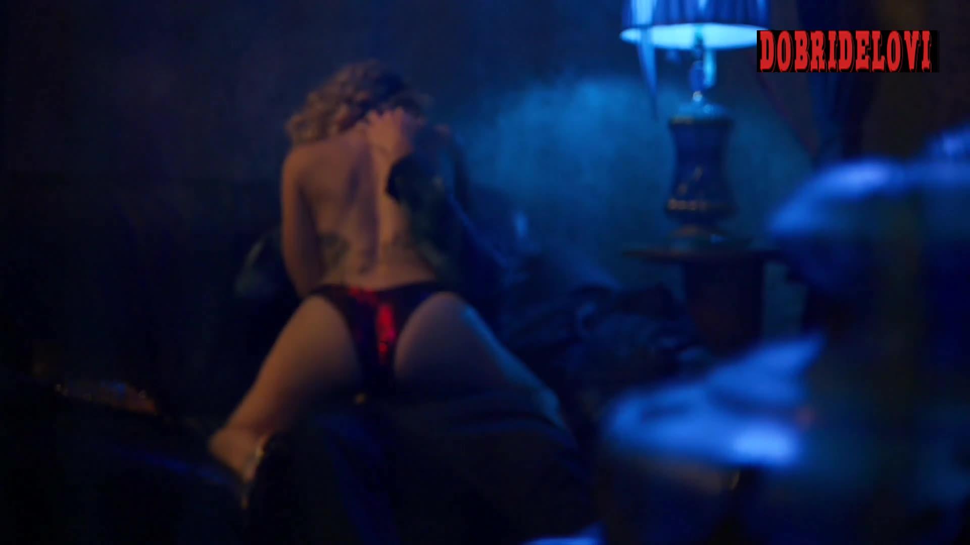 Skyler Joy interrupted sex scene from P-Valley