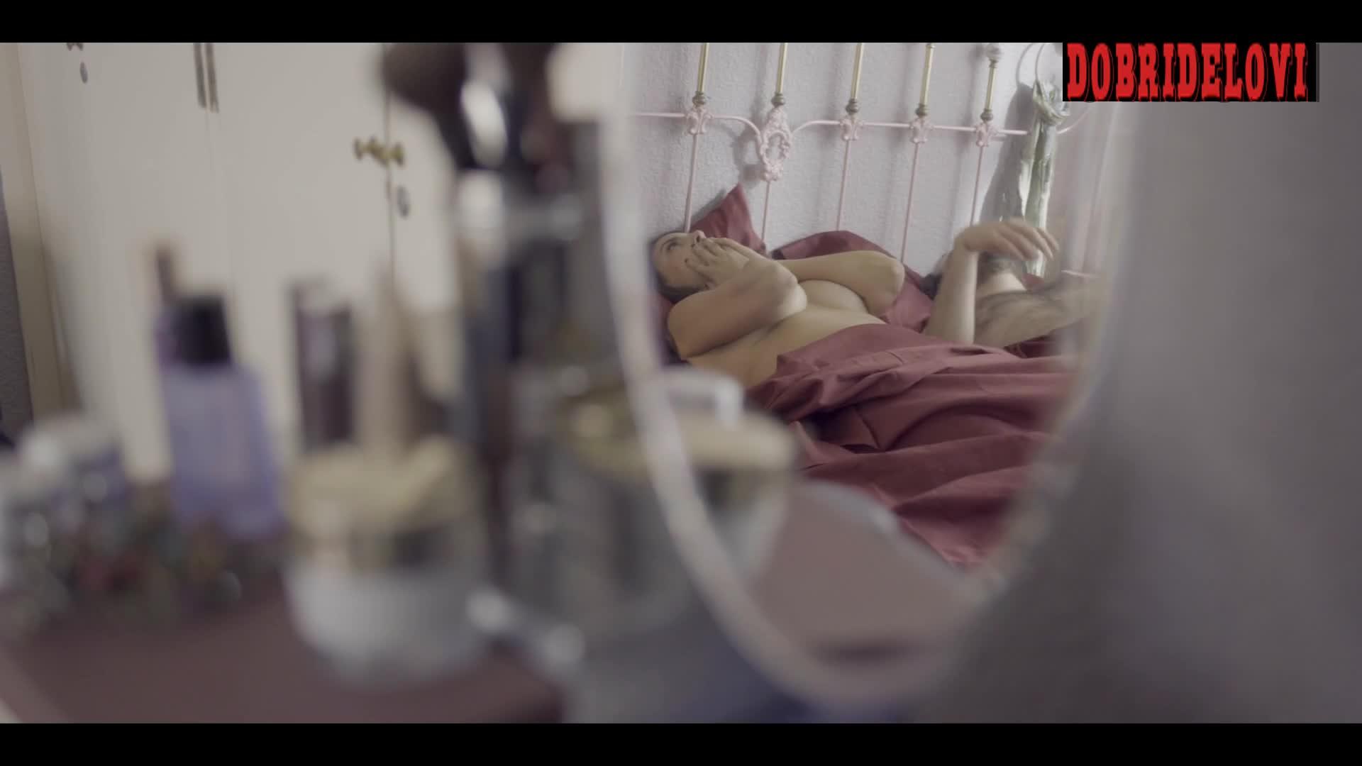 Liz Gallardo underboob scene from Daughter from Another Mother