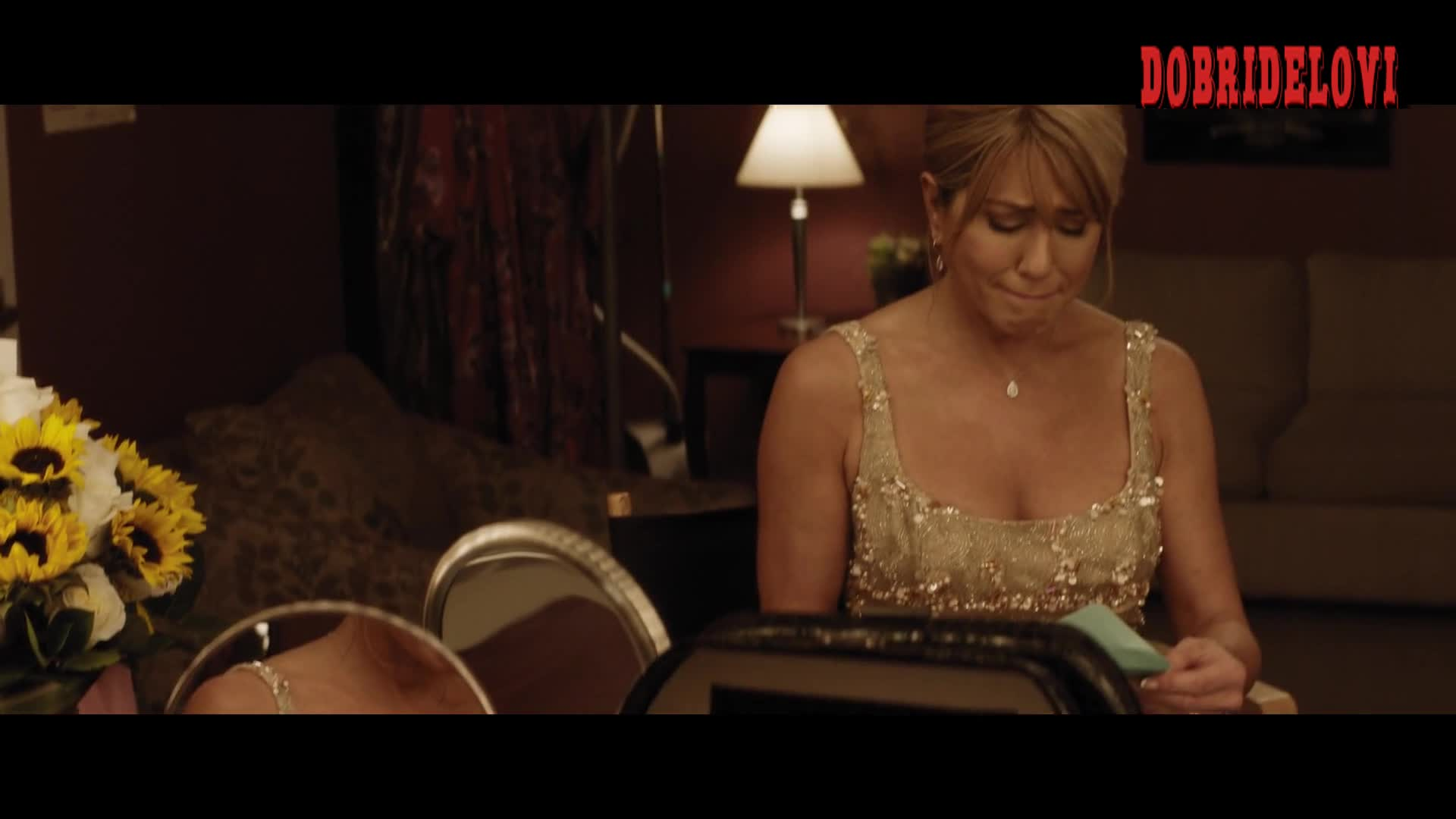 Jennifer Aniston getting dressed scene from Dumplin'